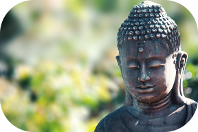 Peaceful Buddist Statue